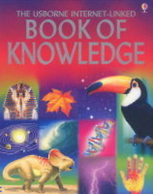 """""""AS NEW"""" The Usborne Internet-Linked Book of Knowledge, Various, Book"""