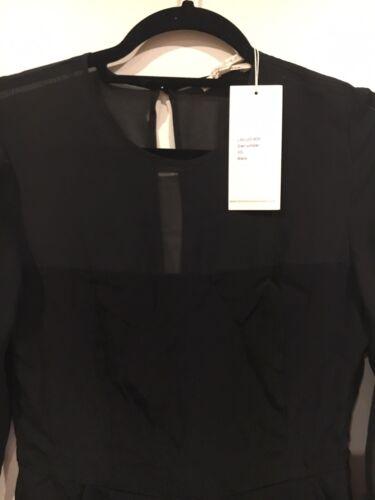 Pagliaccetto maniche lunghe nere a Xs lunghe Little Pagliaccetto Lies maniche Urban White Outfitters con wZPSYq6I