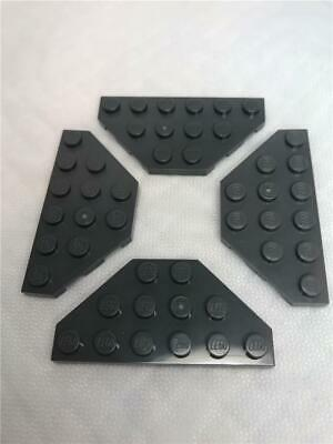 Lego 25 New Sand Green Wedges Plates 4 x 6 Cut Corners Pieces