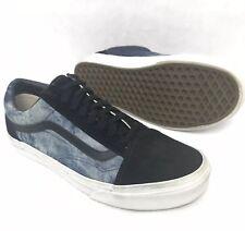 5e93004df85 item 2 Vans Old Skool Dark Blue Denim Black Suede Mens 7 Womens 8.5 EUC -Vans  Old Skool Dark Blue Denim Black Suede Mens 7 Womens 8.5 EUC