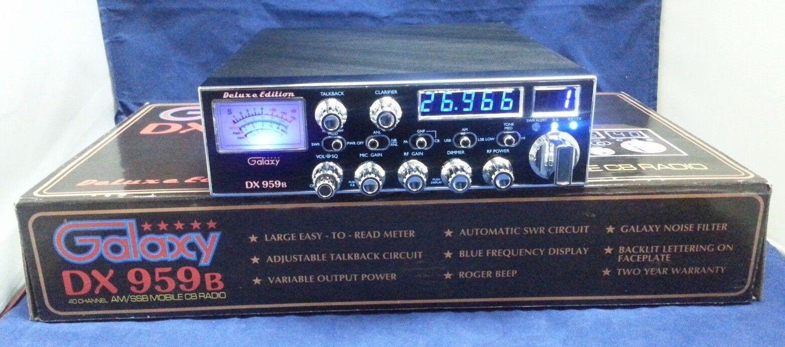 DX959B effinghamradiorepair Galaxy DX-959B AM SSB CB Radio DX959 PRO TUNED AND ALIGNED!!!!