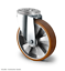 Transportrollen Schwerlastrollen 160 200 mm Polyurethan Rad Lenkrolle Bremse