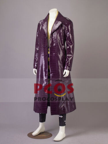 Upgraded version Suicide Squad Joker Cosplay Costume mp003476