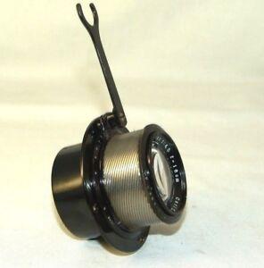 old-rare-Carl-Zeiss-Jena-TESSAR-4-5-180mm-Lens-mount-camera-ERNEMANN-Germany