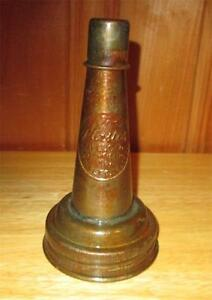 The Master MFG Oil Spout and Dust Cap Litchfield ILL Pat 1926 for Glass Bottle