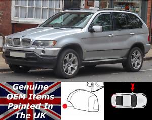 BMW-X5-E53-Veritable-Neuf-Aile-Gauche-Miroir-Housse-Peint-A-Pour-1999-A-2005