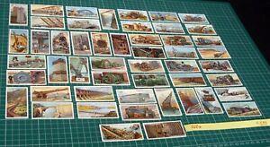 Engineering Wonders Wills Cigarette Card Set 50/50 from 1927 Steam & Steel