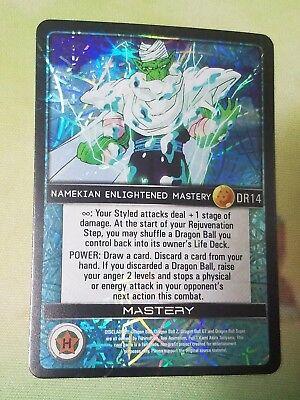 Dragon Ball Z DBZ CCG Custom Panini Proxy Foil 14 Namekian Enlightened Mastery