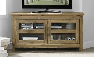 Image Is Loading Walker Edison 44 Inch Wood Corner Tv Media