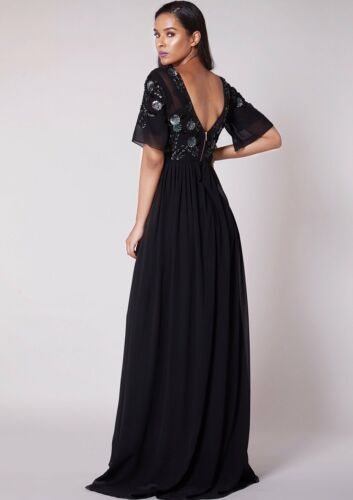 VIRGOS LOUNGE sale PARTY WEDDING MAXI DRESS UK 6 8 10 12 14 RRP £180