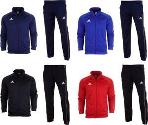 Adidas-Core-18-Full-Mens-ZipPockets-Tracksuit-Jogging-Top-Slim-Fit-Bottoms-S-2XL