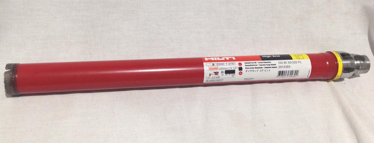 Hilti 30mm diamond core drill bit. DD-BI 30/320 PL   Part No 2015365
