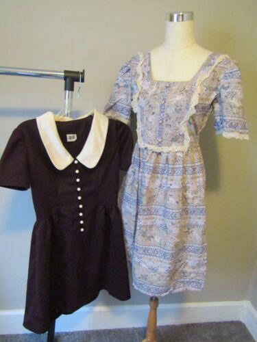 Lot of 2 1960 Dresses Hoot Owl & DollyRocker by Sa