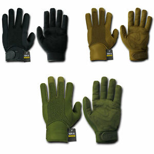 Rapid-Dom-Neoprene-Breathable-Tactical-Patrol-Driving-Gloves