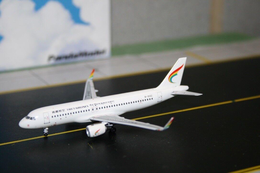 Panda Model Skywings 1 1 1 400 Tibet Airlines Airbus A320-200 B-1682 (SKY-PM-012) a94055
