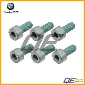 For BMW E82 E90 128i 135i 328i Set of 6 Bolts GENUINE 21 20 7 548 052