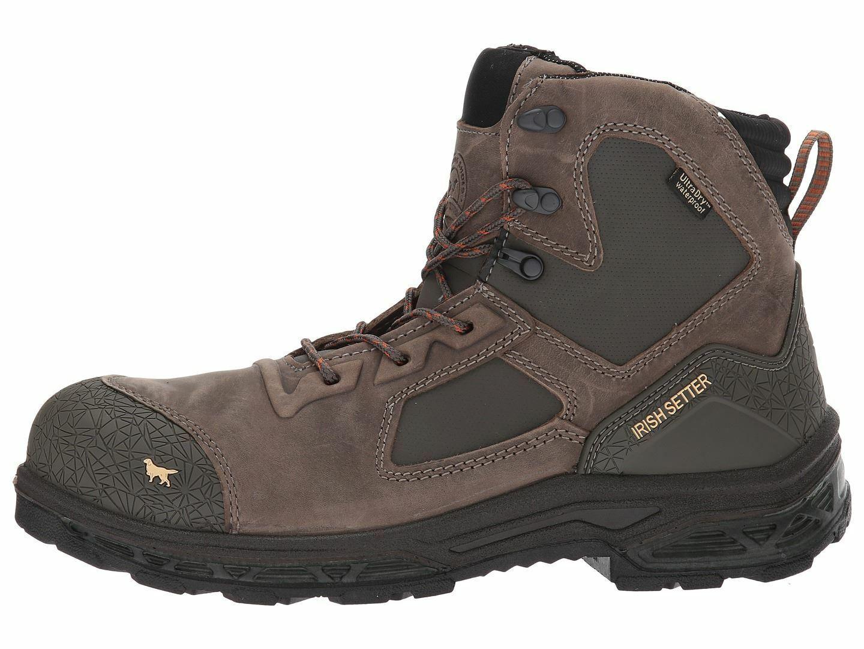Irish Setter para hombre Kasota Impermeable 6   Marrón botas De Trabajo 83619  minorista de fitness
