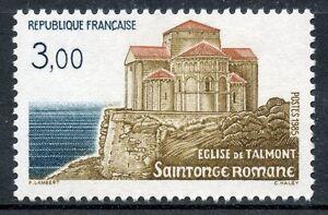 Timbre France Neuf N° 2352 ** Saintonge Romane Talmont