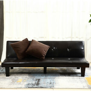 Image Is Loading New Futon Sofa Bed Convertible Couch Loveseat Dorm