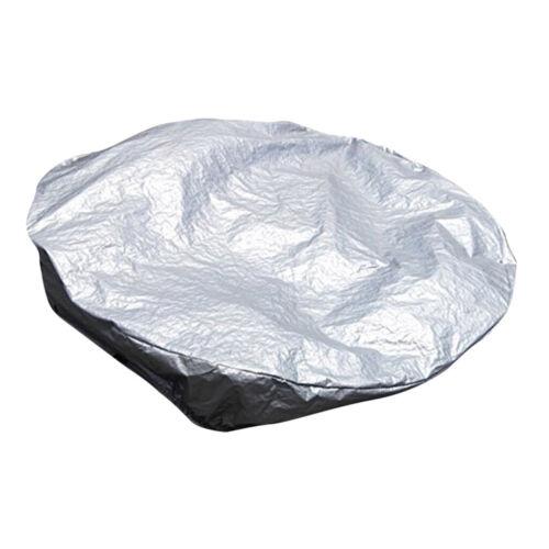 Wasserdichte runde Whirlpoolabdeckung aus Polyester SPA Wannenabdeckungen für