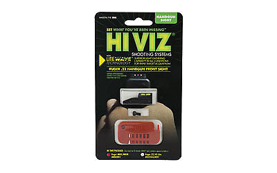 HIVIZ HRBLW01 Ruger Mark II and Mark III Interchangeable LITEWAVE F HRBLW01 NEW
