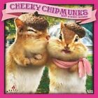 Avanti Cheeky Chipmunks 2017 Square by Inc BrownTrout Publishers