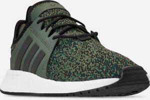 Details about adidas Originals X PLR Fashion Shoes Base Green Black Sz 13 B37932