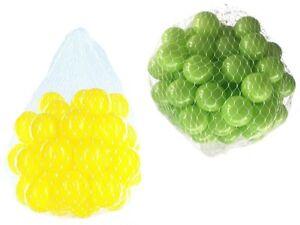 100-10000 Balle Punch Balls 55mm Mix Vert Clair Jaune Mixte Couleurs Ballons De Jeu Pour Bébé