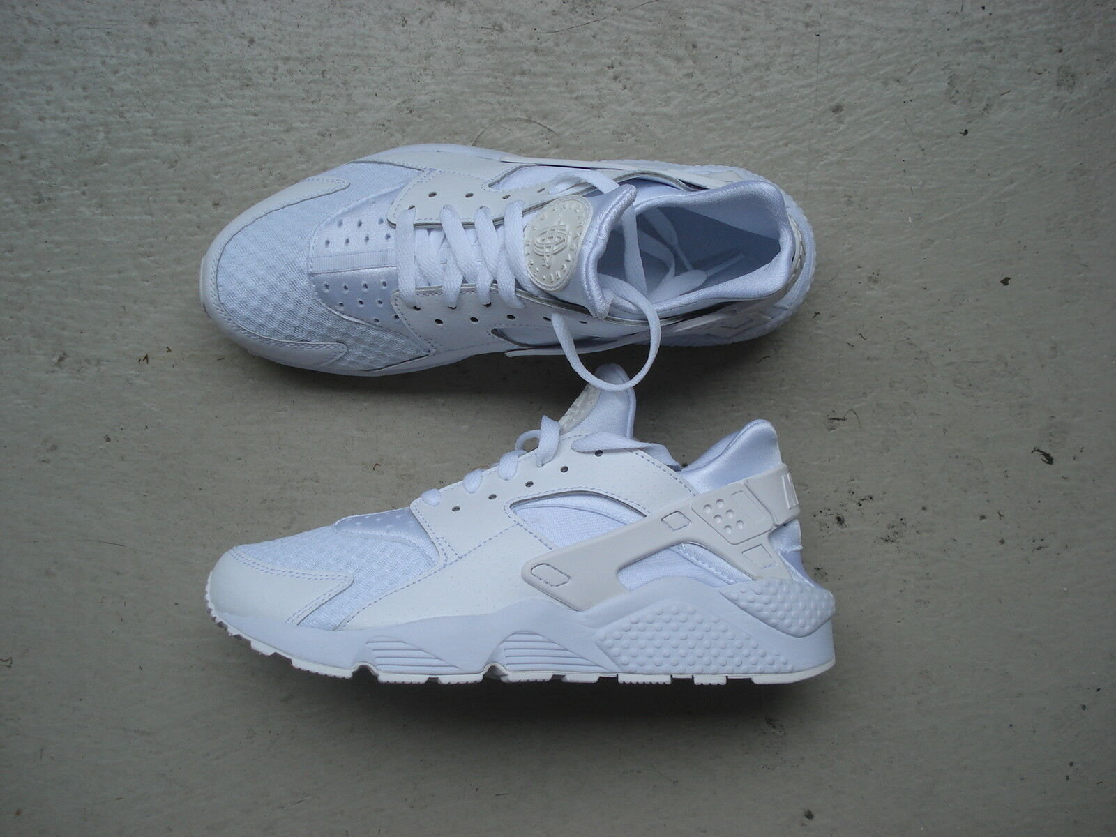 Nike Air Huarache 44.5 White White-Pure Platinum