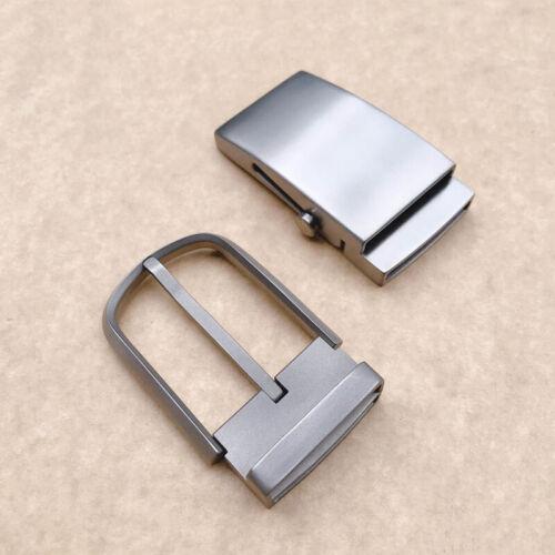 Pure Titanium Men Womens Anti-allergic Belt Pin Buckle Automatic Buckle Fastener