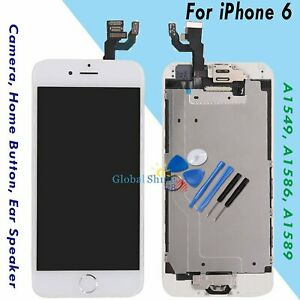 For-iPhone-6-4-7-034-Screen-Replacement-Digitizer-LCD-Home-Button-Camera-White-UK