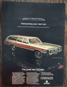 ORIGINAL-1968-Chrysler-Town-amp-Country-Station-Wagon-for-1969-PRINT-AD