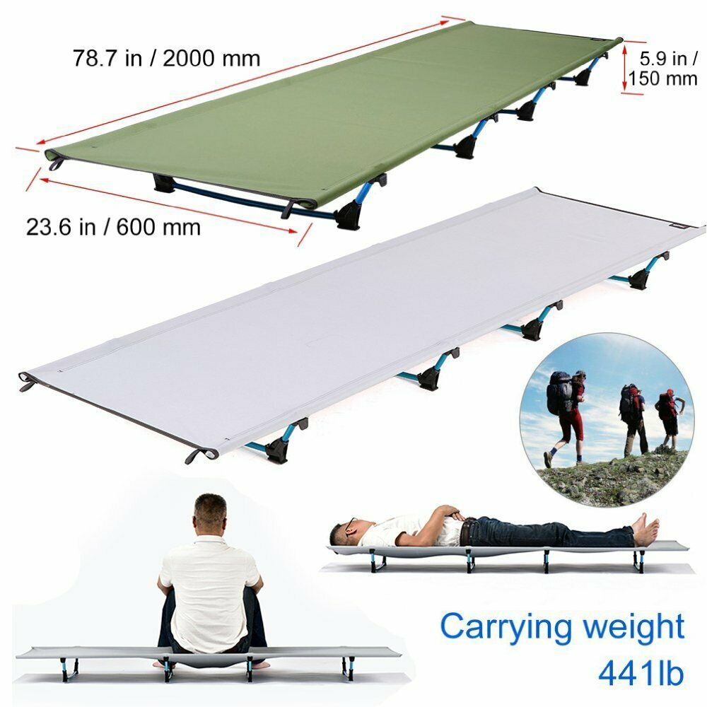 Outdoor Ultralight Camp Bed 200KG Bearing Breathable Waterproof  Bed Surface MY  cheap in high quality