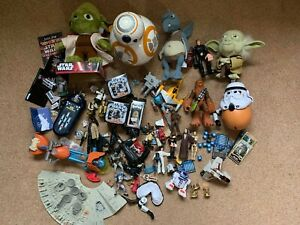 Star-Wars-Action-Figure-Plush-Junk-Toy-Model-Collection-Bundle-Job-Lot-BB-8