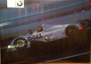 BMW Motorsport V12 LMR Sieger Le Mans 1999 Factory Original Car Poster Rare!