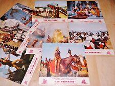 LES DRAKKARS The Long Ships ! jeu 8 photos cinema lobby card 1963 vikings