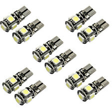 20x T10 5050 5 SMD white Canbus Car LED Turn Signal Bulb Fog Driving front Light
