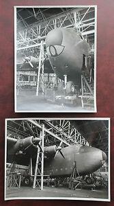 2-SUPERB-UNIVERSAL-FREIGHTER-AIRCRAFT-ORIGINAL-PRESS-PHOTOS-AVIATION-1950-PLANE