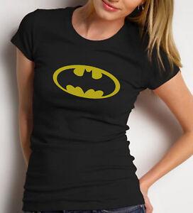 LogoMaglietta Batman Femminile Donna NeroTaglio T Colore Shirt MpSqUVz