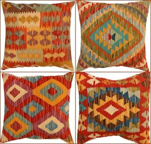 Vintage-Kilim-Handmade-cushions-Turkish-look-Genuine-Matching-Cushion-Covers