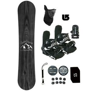 Symbolic-Knotty-Snowboard-Bindings-Package-Youth-Kids-Stomp-Leash-Mask-Burton-3d