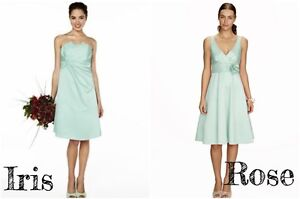 300211e9314d Bhs Iris, Rose Short Bridesmaid Dress Mint Size 12 14 18 20 22 BNWT
