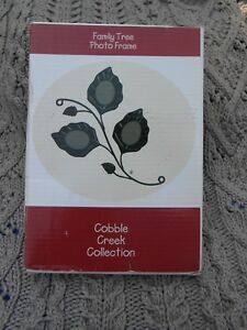 NIB-Cobble-Creek-Collection-Family-Tree-Photo-Frame-3-pictures-in-leaf-shape