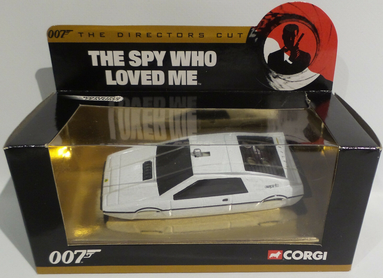 James Bond  Lotus submarino Die Die Die Cast Modelo hecha por Corgi en 2003 c8218f