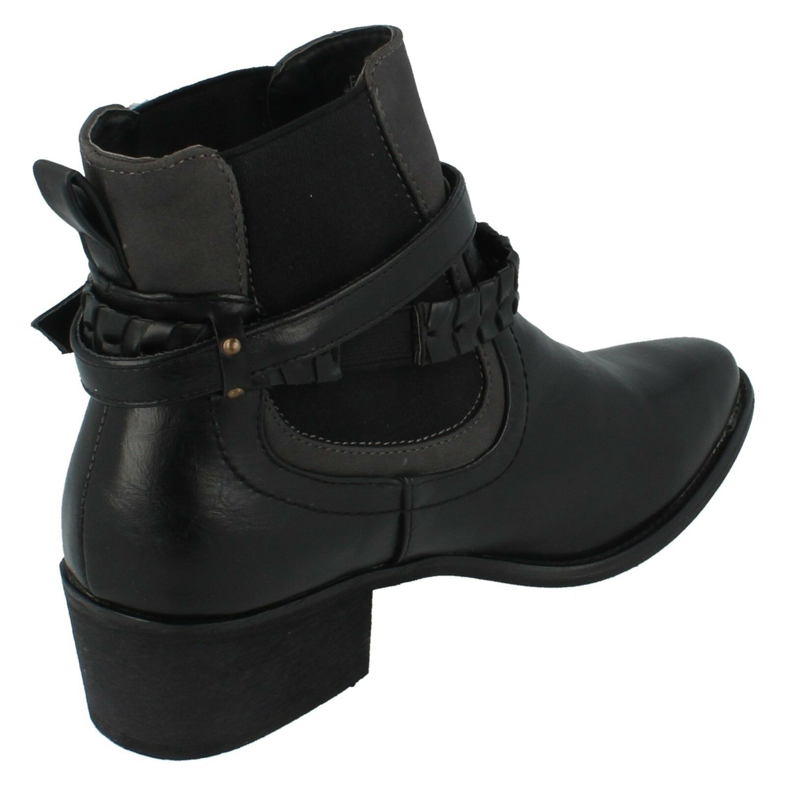 Ladies Down To Earth Pull On Gusset Ankle Ankle Ankle Boot F5R0941 dc6b60