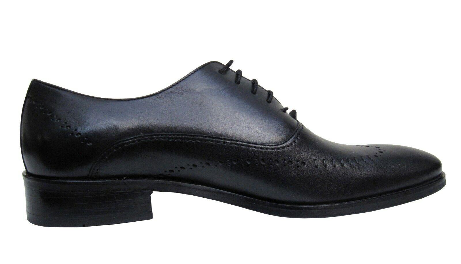 Herren Schuhe Echt leder Gr.39 Schwarz Schwarz Schwarz  18db00