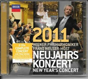 2-CD-ALBUM-19-TITRES-CLASSIQUE-CONCERT-NEW-YEAR-2011-FRANZ-WELSER-MOST-amp-WIENER
