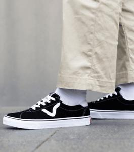 Vans Shoes Sport Suede Black USA SIZE Skateboard Sneakers