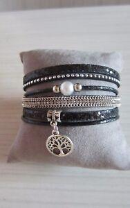 Pulsera-puno-negro-bohemia-elegante-diamantes-de-imitacion-de-cristal-perla-y