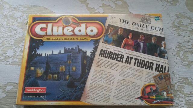 CLUEDO - WADDINGTONS 2000 EDITION - EXTREMELY RARE FACTORY SEALED